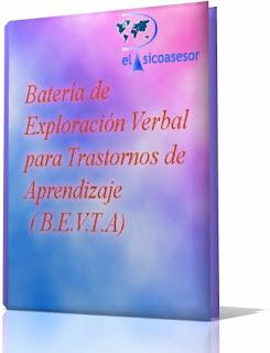 Batería- de Exploración -Verbal-para -Trastornos de Aprendizaje