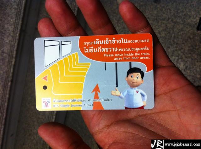 """""""Ticket BTS (Bangkok Transite System)"""""""