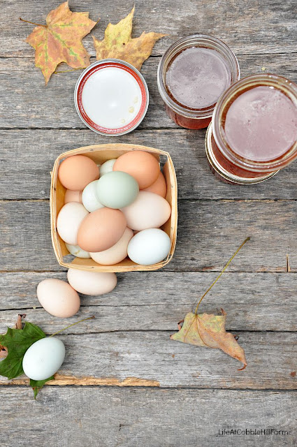 farm-fresh eggs & honey