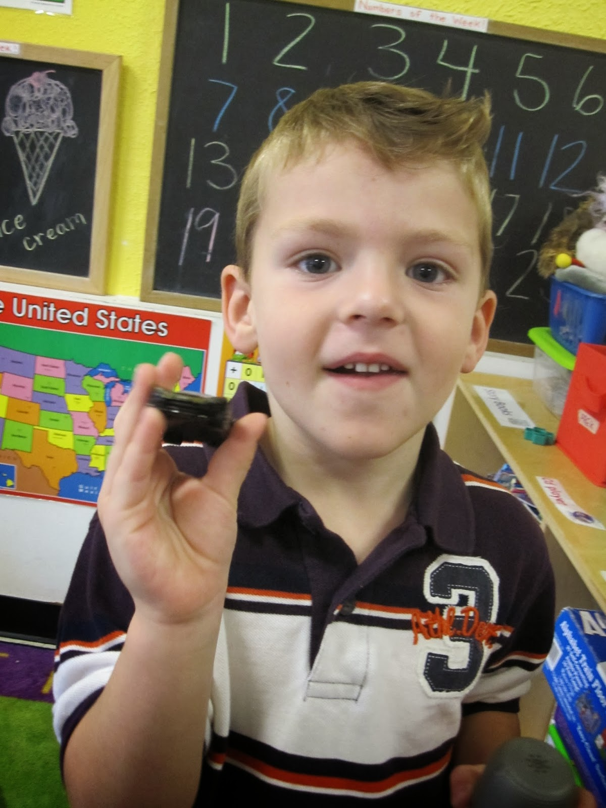Noble Day Care's Learning Lions : Letter I & Color Black Show and Tell