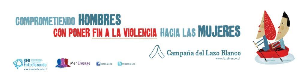 Campaña del Lazo Blanco Chile www.lazoblanco.cl