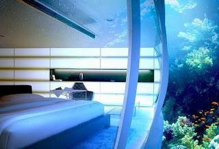 Wow, Ada Hotel Bawah Laut  dari daniel maulana