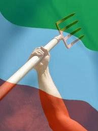 Who are Pitchfork Italian protester?