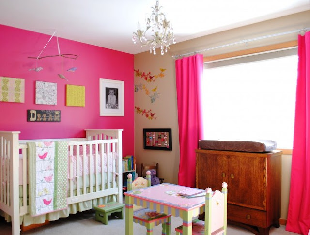 best color paint for a baby girl's room