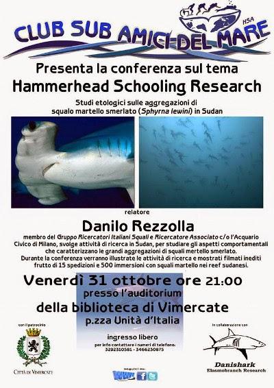 serata biologia marina vimercate milano