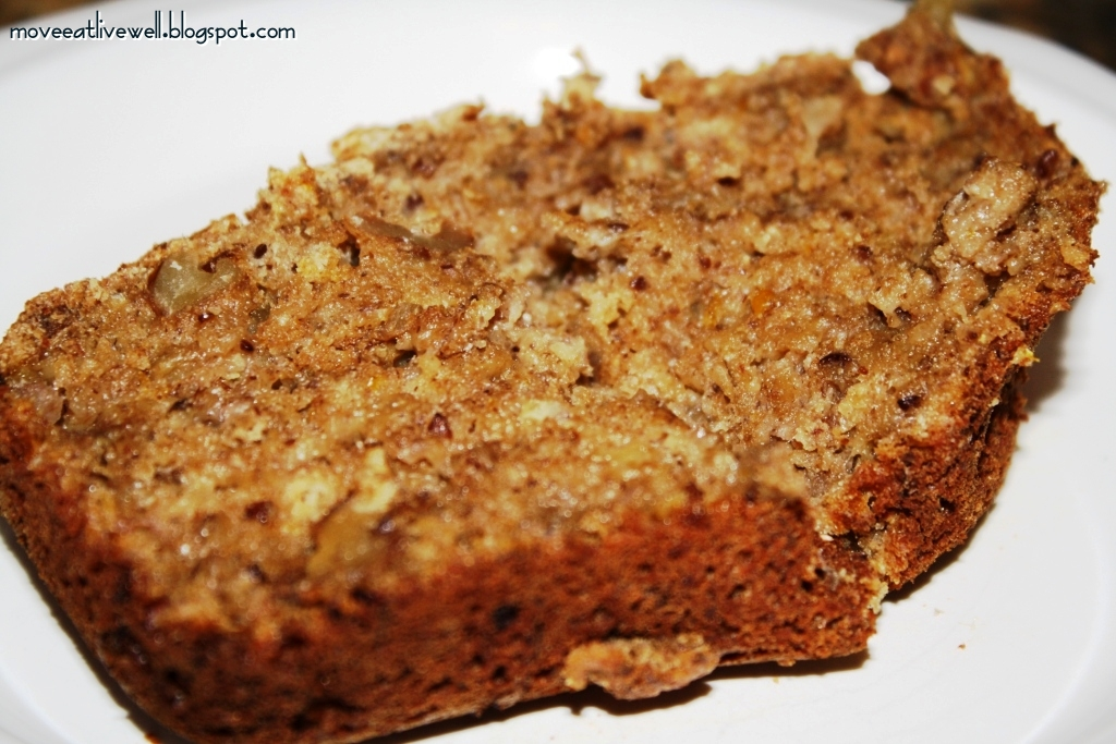 Move Eat Healthy Live Better Banana Walnut Bread Or Muffins Oil