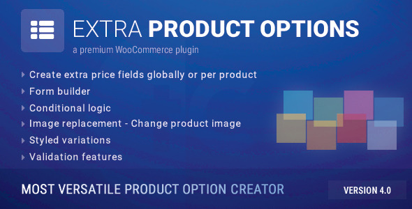 Codecanyon WooCommerce Extra Product Options v4.0