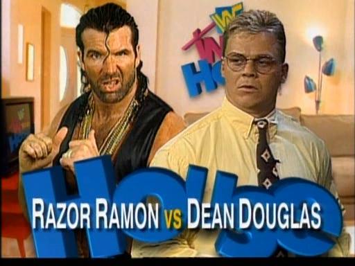 WWF / WWE - In Your House 3 - Triple Header -  Razor Ramon vs. Dean Douglas