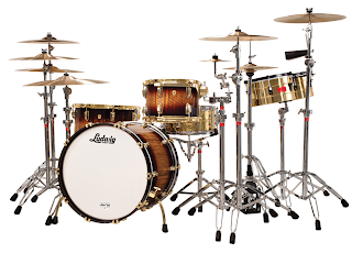 Ludwig Drum Set - Legacy Exotic Black Limba