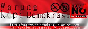 Warkop Demokrasi anti narkoba