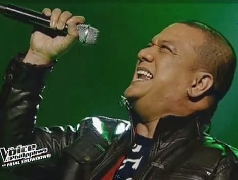 Mitoy Yonting, grand champion of The Voice of the Philippines