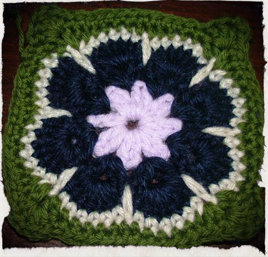 Cuadraditos en crochet muy gaby - Cuadraditos de crochet ...