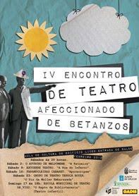 IV encontro de teatro afeccionado de betanzos 2013