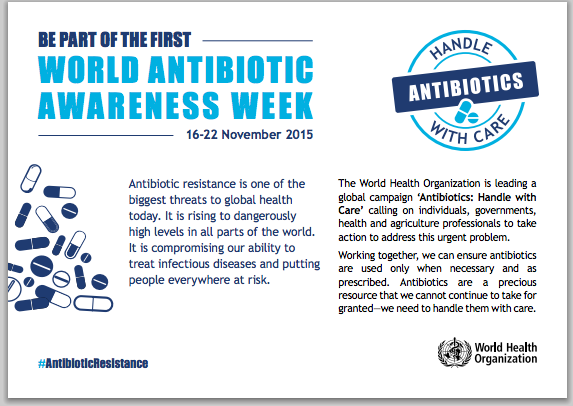 World Antibiotics Awareness Week