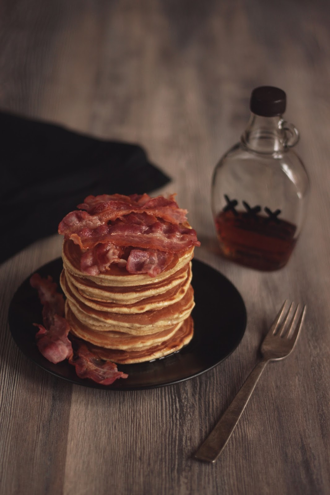 Pancake Stories: Mancakes - Bacon and Beer Pancakes with ...