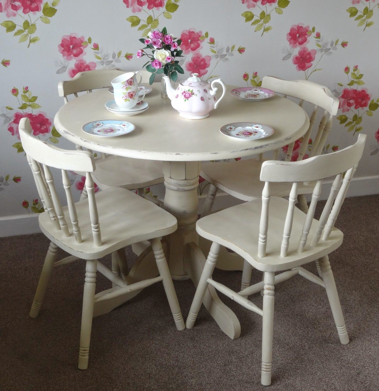 shabby chic country sisters sold shabby chic pine round table and