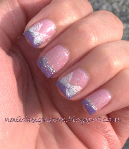 nail design zoya anaka and baby