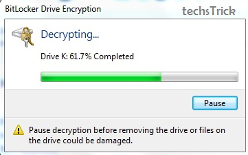 Decryption in progress