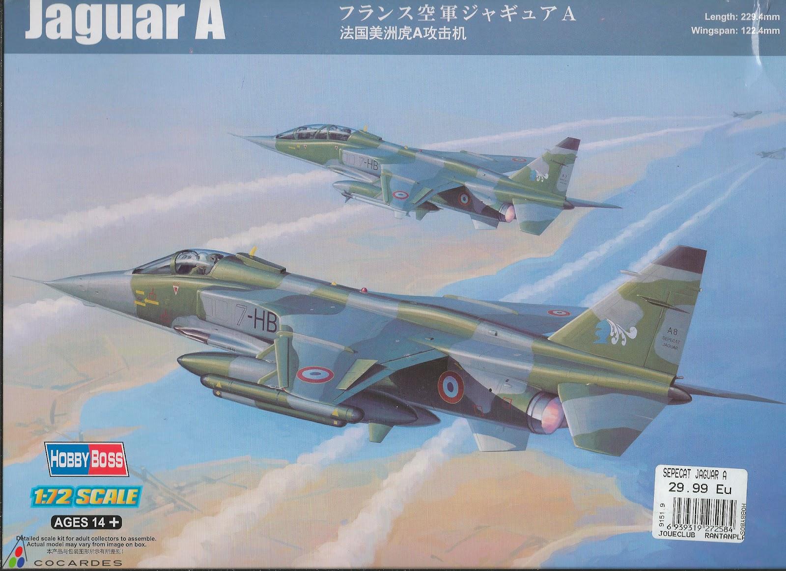 Airwaves 72039  Sepecat Jaguar GR.1A (pour maquettes Has  Accessoire avion