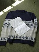 Pulóver que le salvó la vida a Miguel Savage. pulover chompa polera guerra malvinas argentina inglaterra