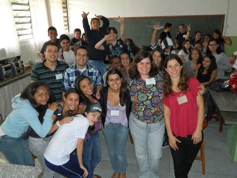 Participantes do Projeto Imunologia nas Escolas de 2012 - Patricia Santos/iii-INCT