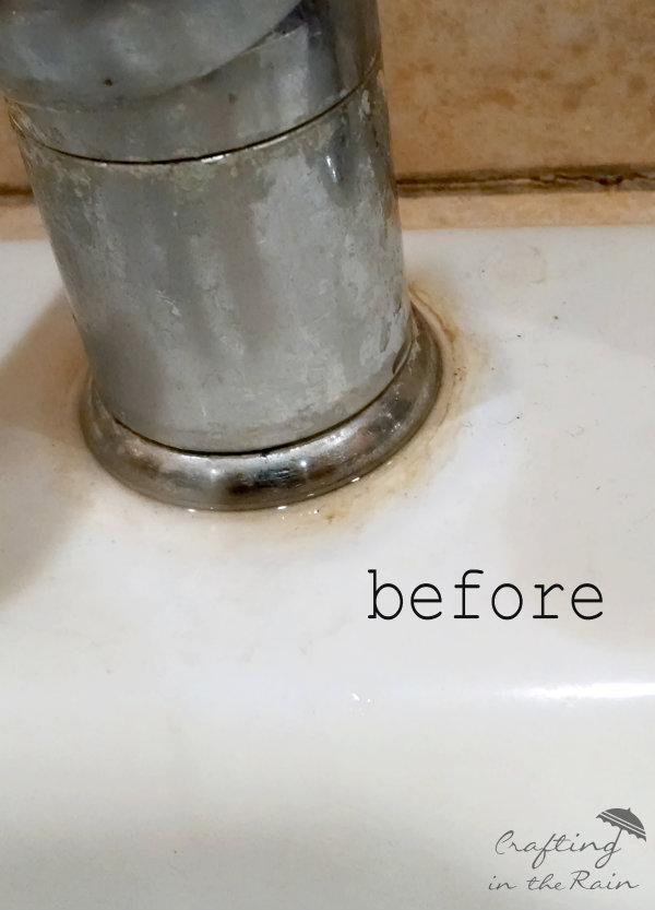 How Clean White Sink Crafting The Rain
