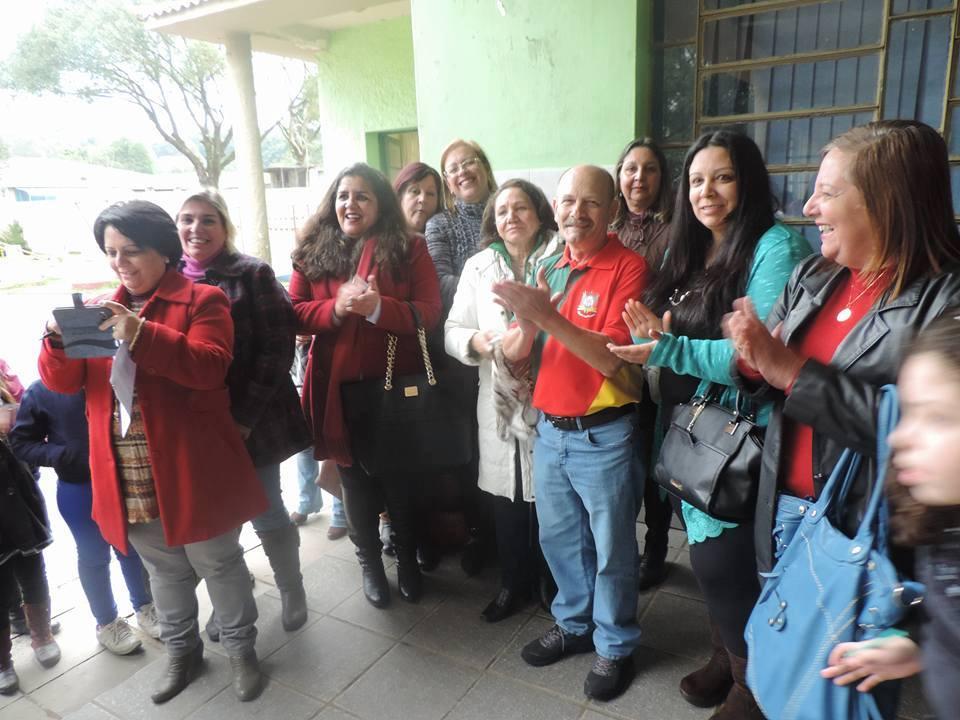 Aplausos para a Banda da Escola Arnaldo Faria