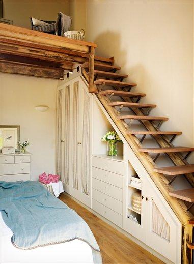 BA interior design: Lépcső alatti tárolás