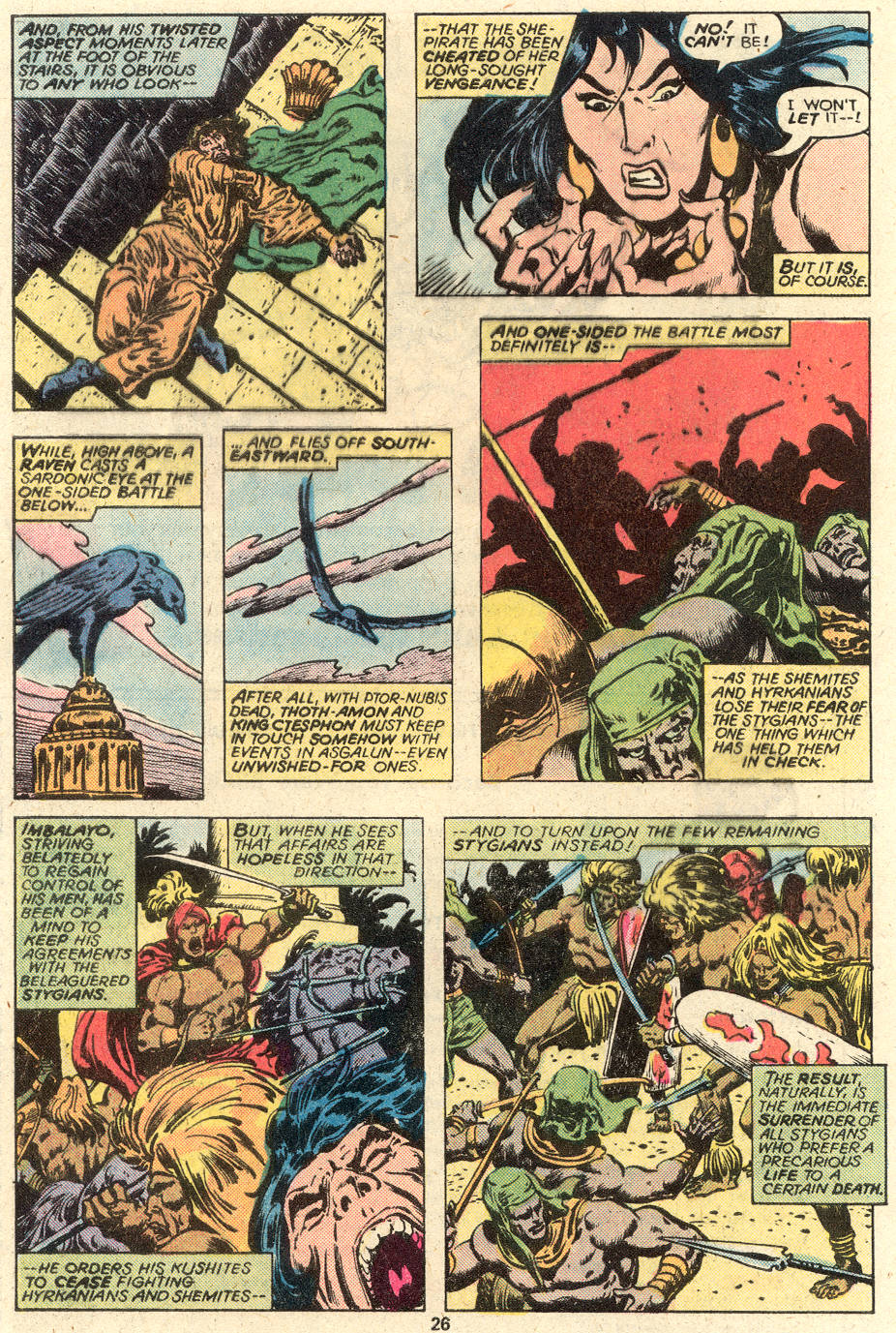 Conan the Barbarian (1970) Issue #93 #105 - English 15
