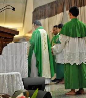 Acara Minggu Misi ke 87 - Dekenat Jakarta Barat II (Bina Iman Remaja MKK) tanggal 20 Oktober 2013