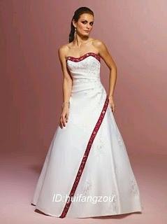 Vestidos de Novia Blanco y Rojo, parte 1