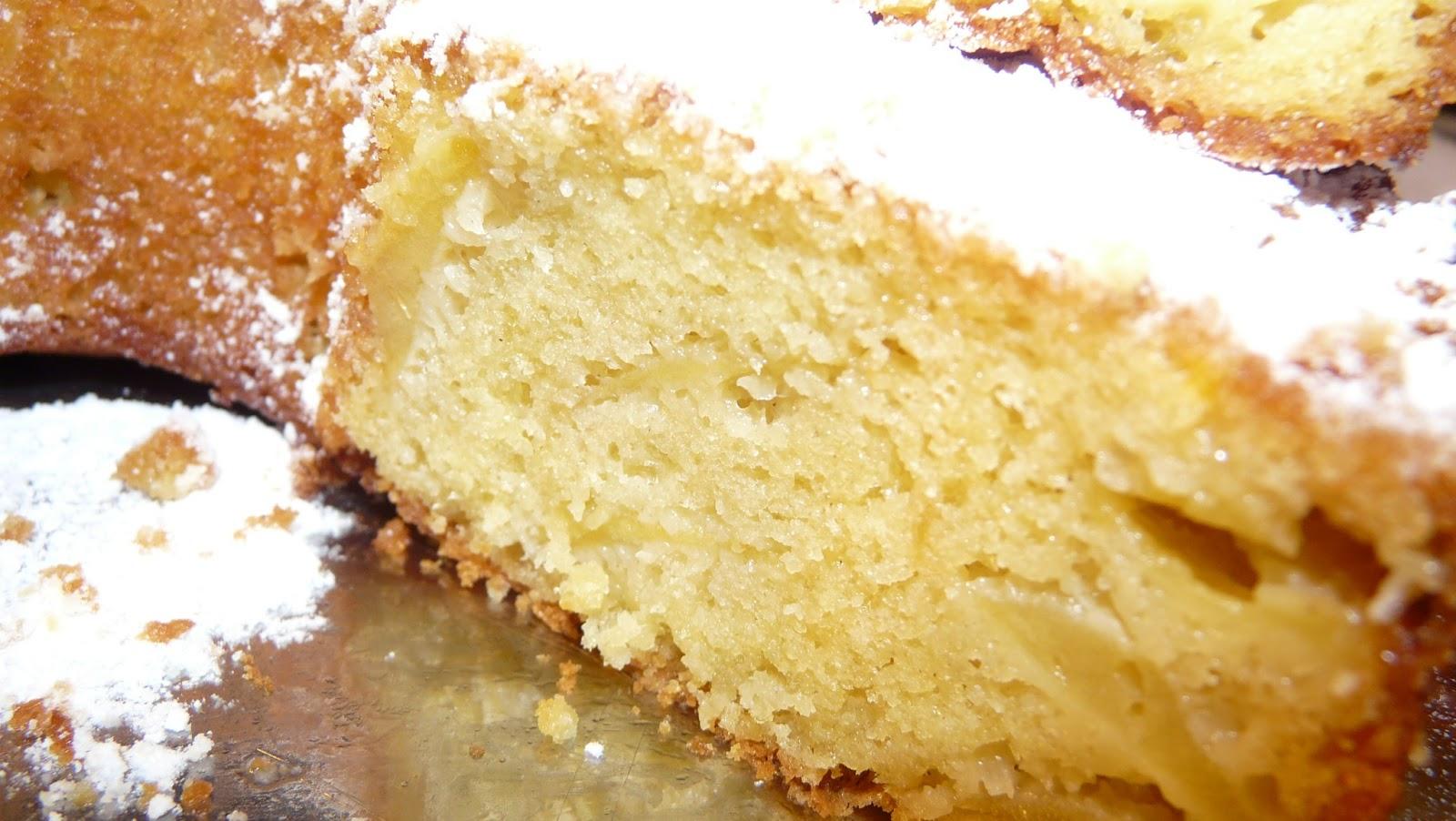 Cake Aux Pommes Eau De Fleurs D Oranger