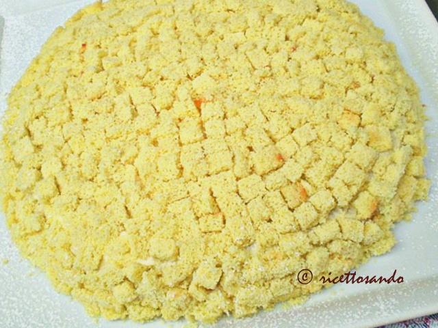 Torta mimosa ricetta dolce per la torta classica per festeggiare l'8 marzo