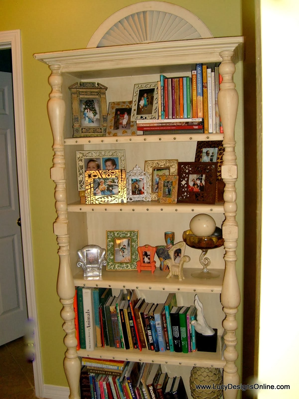 bookcase makeover diy