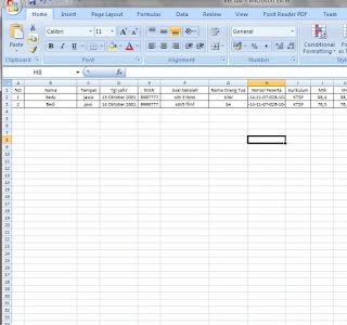 Contoh Format Surat Keterangan Lulus SD