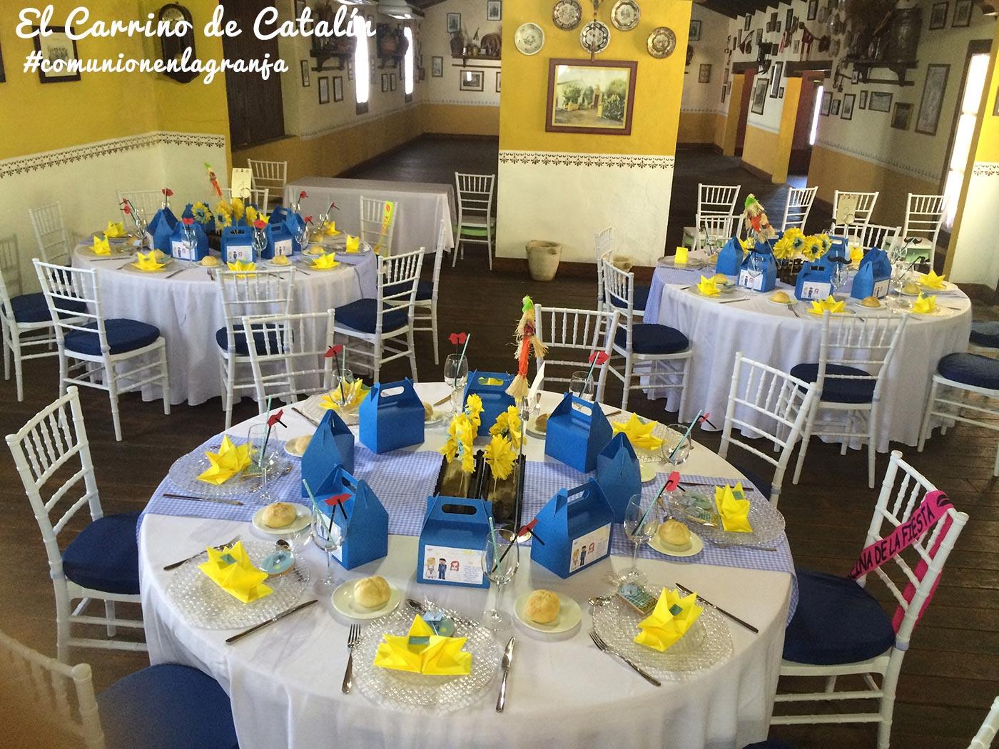 Decoracion mesas bodas originales mesas y salones de - Mesas para comuniones ...