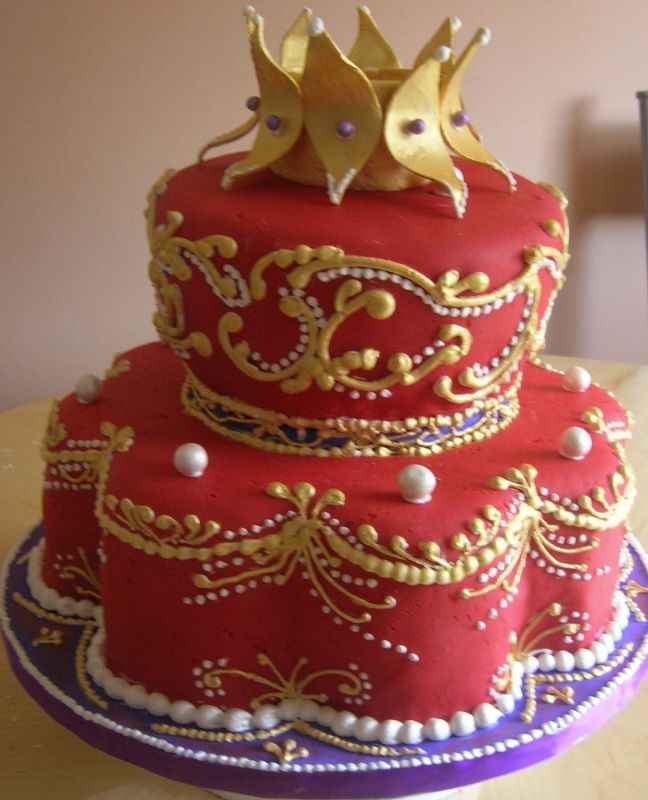 Queen Birthday Cake Decorations Image Inspiration of Cake and