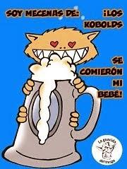 Yo soy un kobold y como bebés