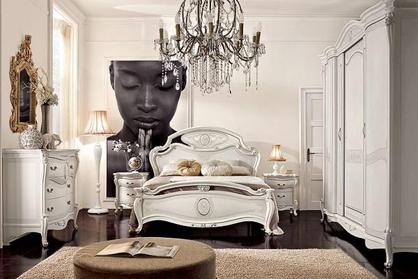 Dormitorios matrimoniales elegantes dormitorios con estilo for Habitacion matrimonio blanco y plata