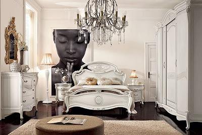 diseño dormitorio matrimonial muy elegante