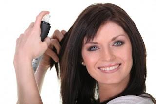 10 Tips Yang Benar Menggunakan Hair Spray