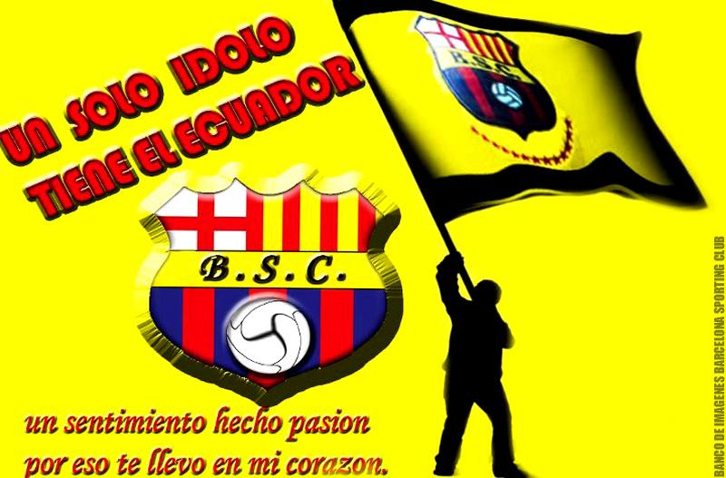 Afiches Carteles de Barcelona Sporting Club Guayaquil Ecuador ...