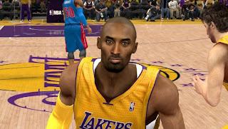NBA 2K13 Kobe Bryant Cyber Face Mod