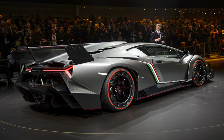 Exceptionnel The Lamborghini Venenos Automobile, Produced By Automobili  Lamborghini SpA, On Display On The