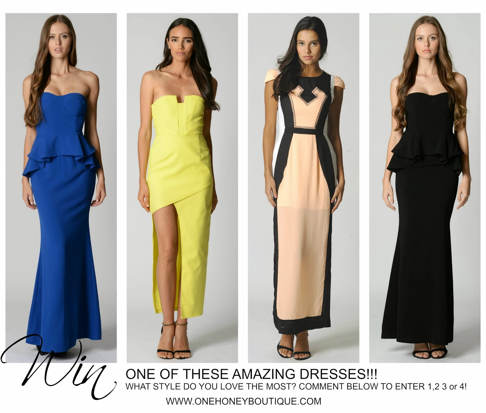 Enter & WIN a Maxi Dress from One Honey Boutique
