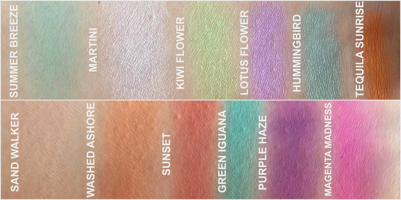 Sleek i-Divine Eyeshadow Palette in Snapshots Swatches