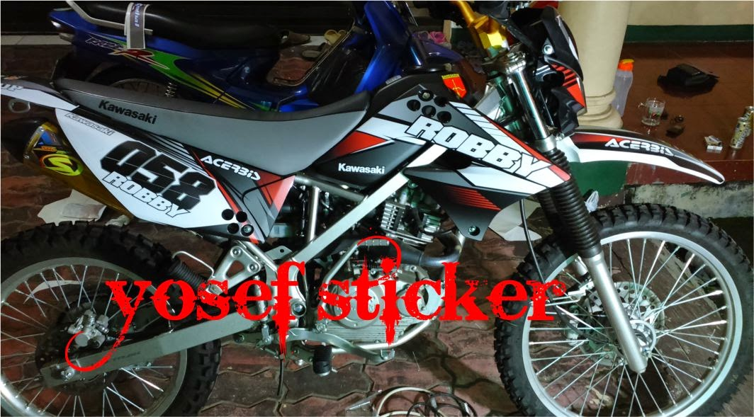Decal klx 150 l