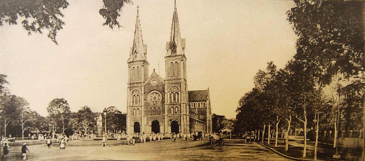 Duc Ba Church in the past