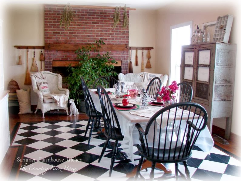 Farmhouse Kitchen http://thecountryfarmhome.blogspot.com/