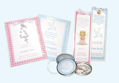 Santinhos de Primeira Comunhão Para Meninos e Meninas